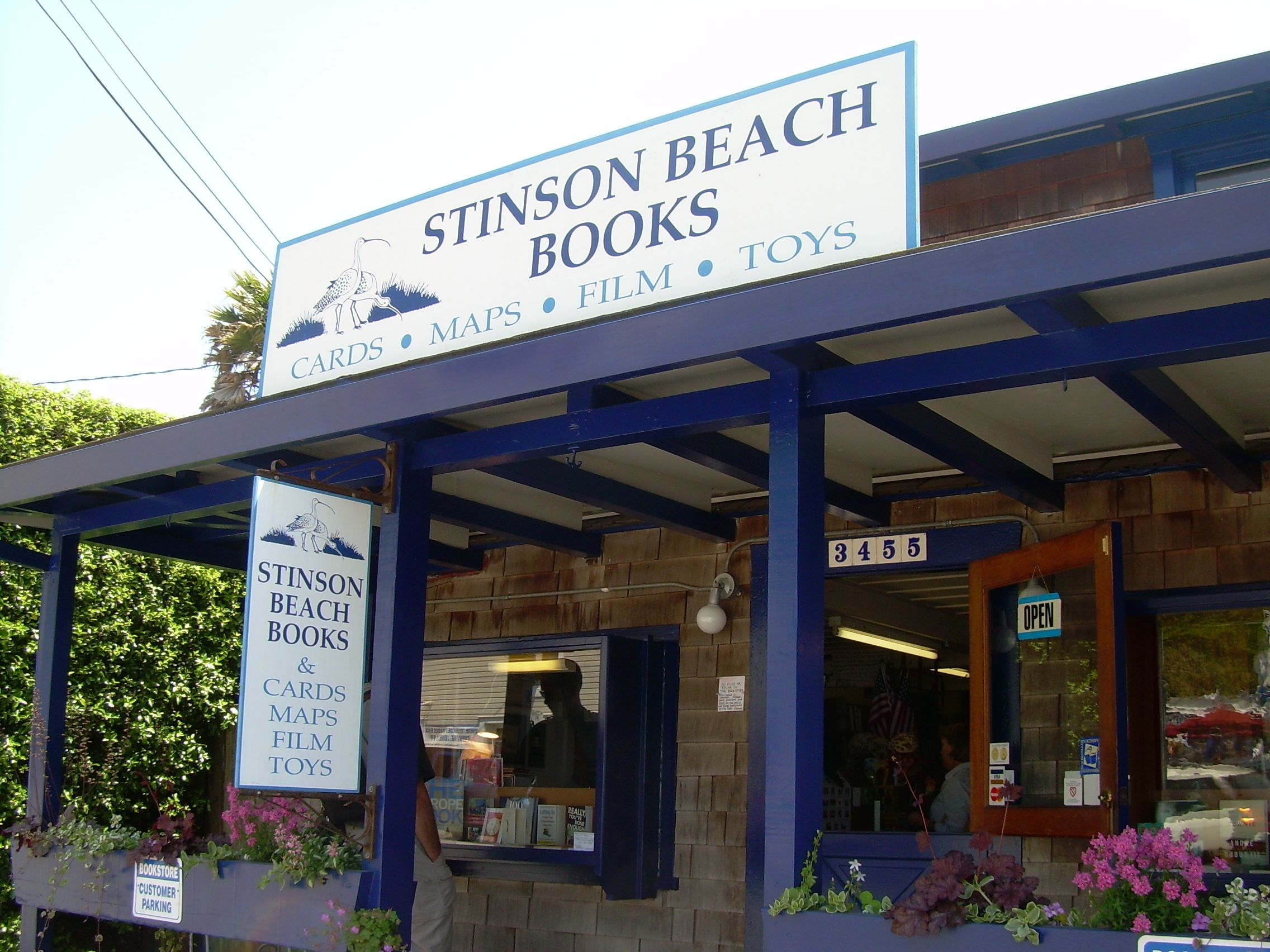 Stinson beach books for 5th avenue salon bedford