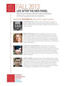 Life after MFA